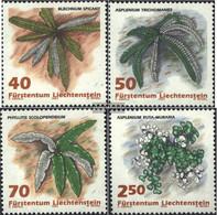 Liechtenstein 1045-1048 (complete Issue) Unmounted Mint / Never Hinged 1992 Ferns - Liechtenstein