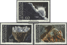Liechtenstein 1093-1095 (complete Issue) Unmounted Mint / Never Hinged 1994 Minerals - Liechtenstein