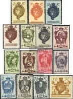 Liechtenstein 25-39 (complete Issue) Unmounted Mint / Never Hinged 1920 Clear Brands - Liechtenstein