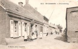St Lenaarts - St Leonards - Processieweg - Café - Hoelen 8512 - 1925 - Brecht