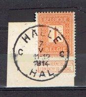 Oblitération Halle-Hal Le 7-V-1914 Sur 108 - 1912 Pellens