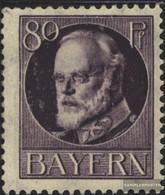 Bavaria 103II A Unmounted Mint / Never Hinged 1916 King Ludwig III - Bavaria