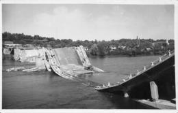 TOURS - Pont De Saint Cyr Détruit - Photo Format Carte Postale (Indre-et-Loire) - Tours