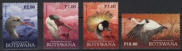 Botswana (2019) - Set -   /  Fauna - Endangered Birds - Oiseaux - Vogel - Cranes - Kranichvögel