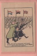 OLD POSTCARD -  MILITARY - WORLD WAR II - NAZI -  SUPER EDEL GERMANEN - Guerra 1939-45