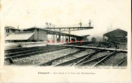 Clamart : Les Quais Et La Gare Des Marchandises - Clamart