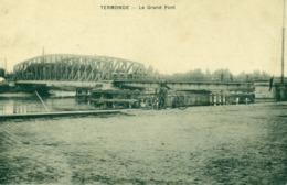 Dendermonde - Termonde - Le Grant Pont - Schelde - WD - 1911 - Dendermonde