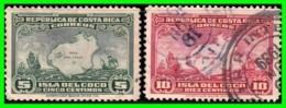COSTA RICA 2 SELLOS AÑO 1936 - Costa Rica