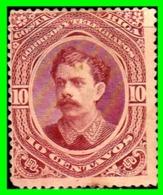 COSTA RICA  SELLO AÑO 1889 PERSONAJES - Costa Rica