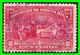 COSTA RICA SELLO AÑO 1921 - Costa Rica