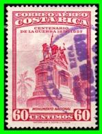 COSTA RICA SELLO AÑO 1959 CORREO AEREO - Costa Rica