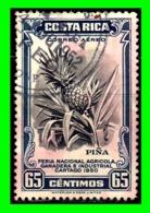 COSTA RICA SELLO AÑO 1950 CORREO AEREO - Costa Rica