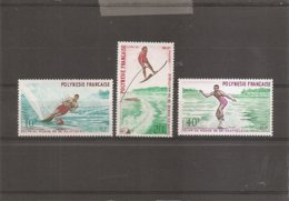 Ski Nautique ( 86/88 XXX -MNH- De Polynésie) - Ski Nautique