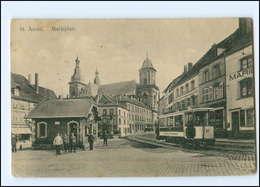 XX006377/ St. Avold Lothringen Straßenbahn AK 1914 - Lothringen