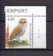 3983 Buzin Kerkuil Plaatnummer 1 Postfris** 2010 - 1985-.. Birds (Buzin)