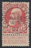 """Grosse Barbe - N°74 Obl Simple Cercle (concours) """"Fontaine-l'évêque"""" - 1905 Breiter Bart"""