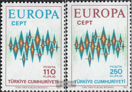 Turkey 2253-2254 (complete Issue) Unmounted Mint / Never Hinged 1972 Europe - 1921-... Republic