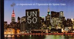 UNO-Genf, 1995,  273/84 MH 0-1,  MNH **,   50 Jahre Vereinte Nationen (UNO), Booklet - Carnets