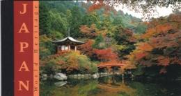 UNO-New York, 2001, 874/79 MH 0-6,  MNH **,   UNESCO-Welterbe: Japan. Booklet - New-York - Siège De L'ONU