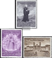 Vatikanstadt 363-365 (complete Issue) Unmounted Mint / Never Hinged 1961 Holy. Meinrad - Unused Stamps