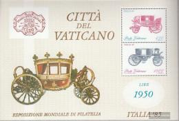 Vatikanstadt Block8 (complete Issue) Unmounted Mint / Never Hinged 1985 ITALIA '85, Rome - Blocks & Sheetlets & Panes