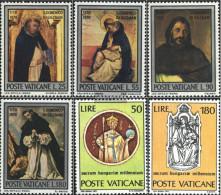 Vatikanstadt 586-589,594-595 (complete Issue) Unmounted Mint / Never Hinged 1971 Dominikus, Hungary - Vatican