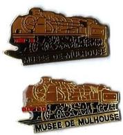 VAPEURS - V69 - MUSEE DE MULHOUSE - LOCO A VAPEUR - Verso : SM - TGV