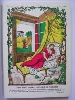 BONNE SAINTE FAINEANTE, PROTECTRICE DES PARESSEUSES - IMAGES D'EPINAL - PELLERIN - Fairy Tales, Popular Stories & Legends