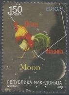 MK 2009-504 EUROPA CEPT, MACEDONIA, 1 X 1v, Used - Europa-CEPT