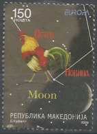 MK 2009-504 EUROPA CEPT, MACEDONIA, 1 X 1v, Used - Macédoine