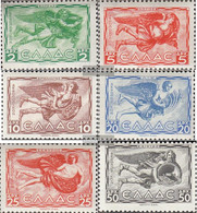 Greece 452-457 (complete Issue) Completeetter Volume 1942 Unmounted Mint / Never Hinged 1942 Tower The Winds - Greece