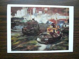 Remorqueur Du Port Sud Malais - Tugboats