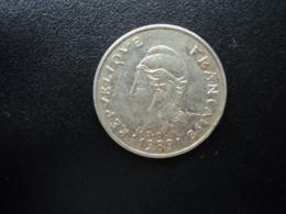 NOUVELLE CALÉDONIE : 10 FRANCS   1989    KM 11     TTB - Nieuw-Caledonië