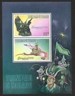 Y&T Bloc 14 °° Carnaval 1974 Trinidad & Tobago (Lot 1001) - Trinité & Tobago (1962-...)