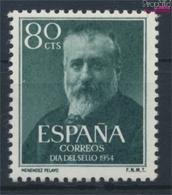 Spanien 1038 (kompl.Ausg.) Postfrisch 1954 Tag Der Briefmarke (9322626 - 1931-Heute: 2. Rep. - ... Juan Carlos I