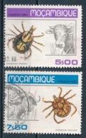 °°° MOZAMBIQUE MOZAMBICO - Y&T N°735/36 - 1980 °°° - Mozambico