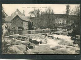 CPA - PONT AVEN - Les Moulins, Animé - Pont Aven