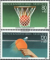 Berlin (West) 732-733 (complete Issue) FDC 1985 Sports Aid - [5] Berlin