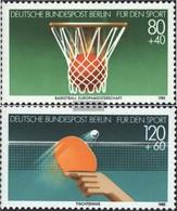Berlin (West) 732-733 (complete Issue) FDC 1985 Sports Aid - [5] Berlijn