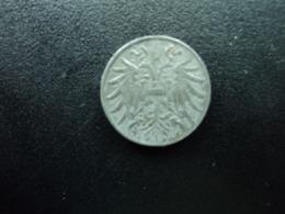 EMPIRE D'AUTRICHE - HONGRIE : 2 HELLER    1918   KM 2824       SUP - Austria