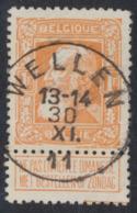 "Grosse Barbe - N°79a Obl Simple Cercle ""Wellen"" (T2 R) / COBA : 10 - 1905 Barbas Largas"