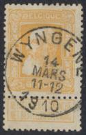 """Grosse Barbe - N°79a Obl Simple Cercle """"Wyngene"""" - 1905 Barbas Largas"""