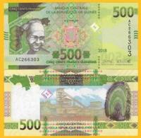 Guinea 500 Francs P-new 2018/2019 UNC Banknote - Guinee