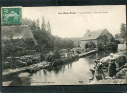 CPA - PONT AVEN - Les Laveuses - Vue Sur L'Aven - Pont Aven