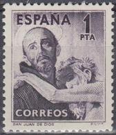 ESPAÑA 1950 Nº 1070 NUEVO CON CHARNELA BIEN CENTRADO - 1931-50 Ungebraucht