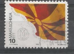 MK 1996-73 INDEPENDENT DAY, MAKEDONIA, 1 X 1v, Used - Macedonia