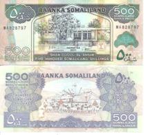 Somalia  P-6h  500 Shillings  2011  UNC - Somalia