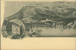 74  MENTHON / Hotel Des Bains Les Dents Du Lanfont / PUB HOTEL AU VERSO - Autres Communes