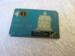 PIN'S  CARTE  FRANCE  TELECOM  AGENCE D ASNIERES - Telecom De Francia