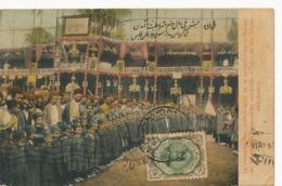 La Seconde Fete Anniversaire Constitution. . Arrivée Des Elèves Ecole.Sent By Armenak Abrahamian Meshed . Armenia - Iran